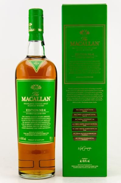 Edition No. 4 - Highland Single Malt Scotch Whisky - 48,4 % vol.