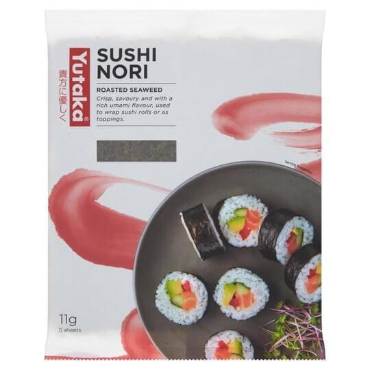 Sushi Nori (5 Blatt)