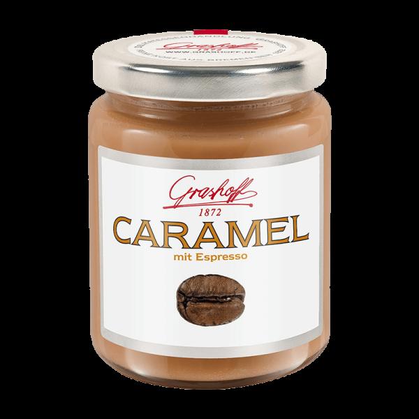 Caramel mit Espresso