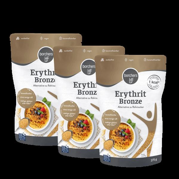 3x Erythrit Bronze