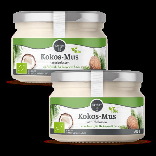 2 x Bio Kokos-Mus