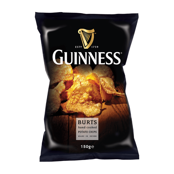 Burts Chips Guinness Flavour 150g