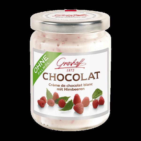 Weiße Chocolat Himbeere 250g