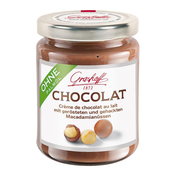 Milch-Chocolat Macadamia