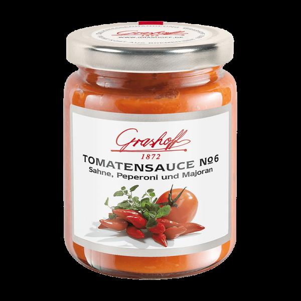 "Tomatensauce No. 6 ""Sahne, Peperoni, Majoran"""