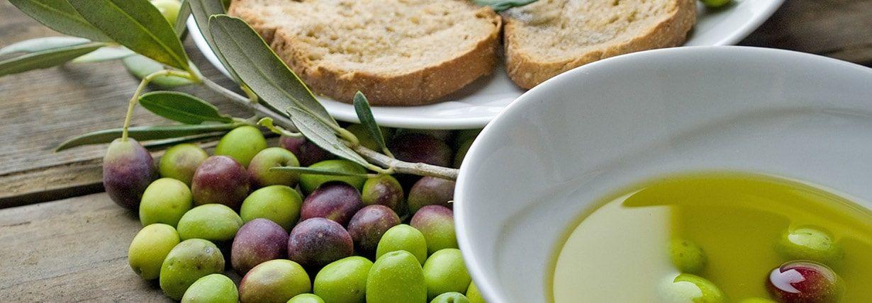 verschiedene Olivensorten