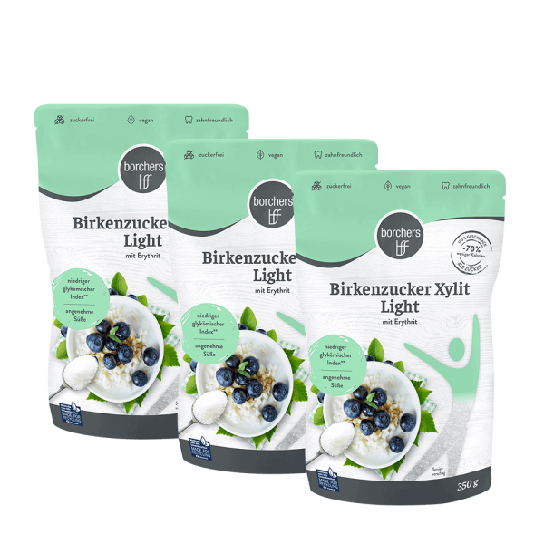 3x Birkenzucker Xylit Light