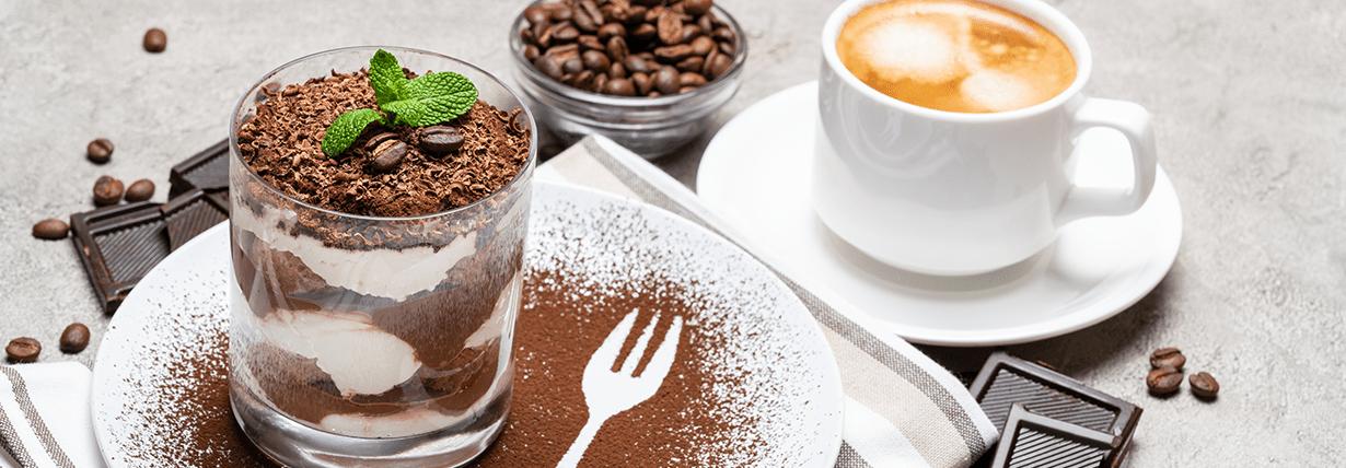 Mascarpone-Kaffee-Dessert