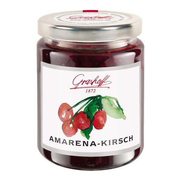 Amarenakirsch-Konfitüre Extra