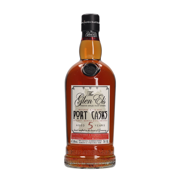 Glen Els 5 Jahre - Port Casks - Single Malt Whisky - 47,4 % vol.