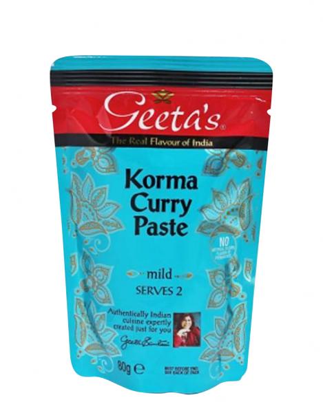 """Geeta´s Curry Paste """"Korma"""" Mild"""