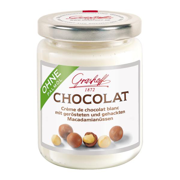 Weiße Chocolat Macadamia