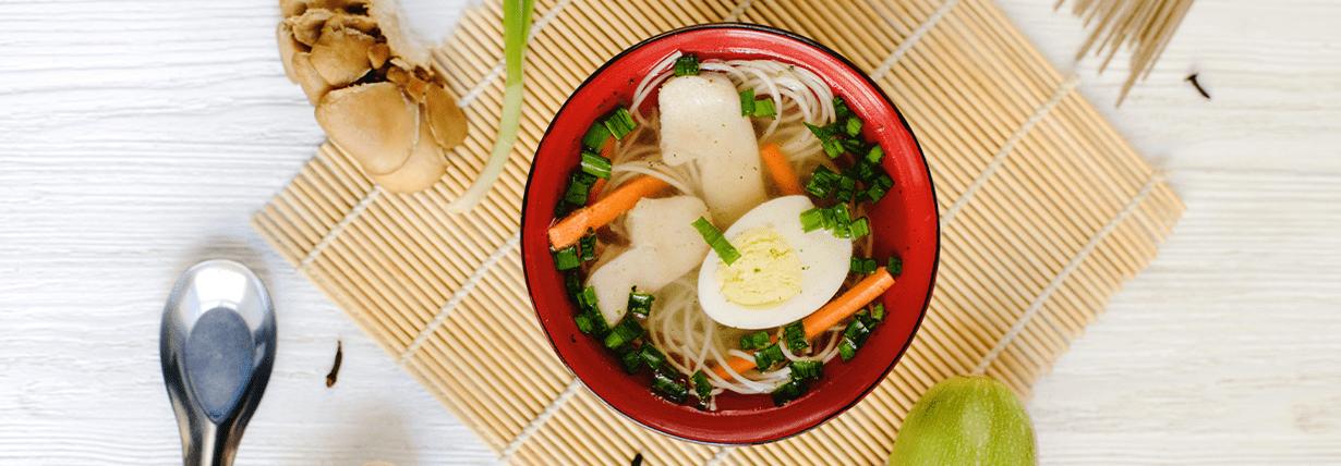 Tonjiri – Misosuppe mit Slendier Noodles