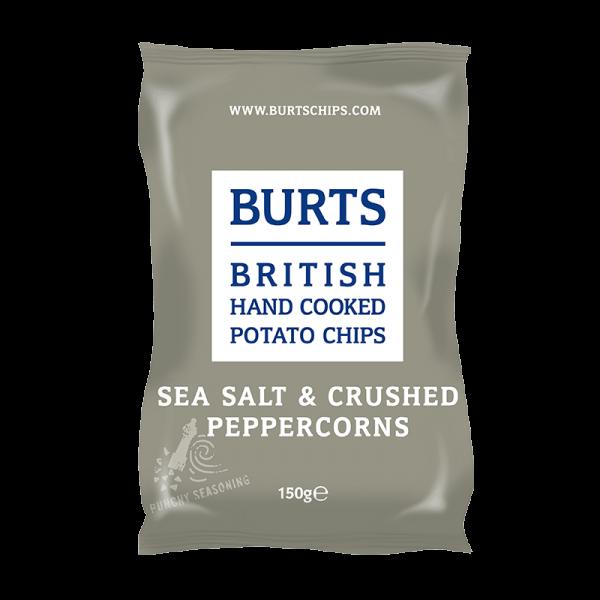 Chips Sea Salt & Crushed Peppercorns