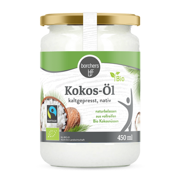Bio Fairtrade Kokosöl 450ml
