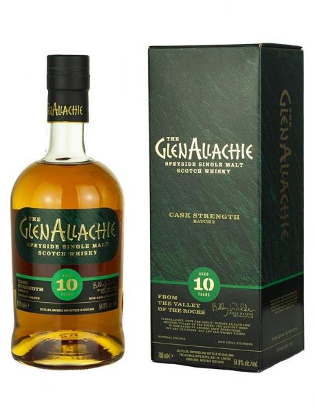 10 Jahre - Batch 2 Cask Strenght - Single Malt Scotch Whisky - 54,8 % vol.