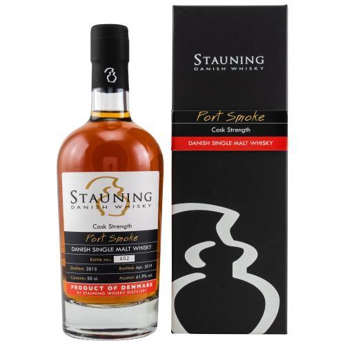 Stauning Port Smoke Cask Strenght - Danish Single Malt Whisky - 61,9 % vol.