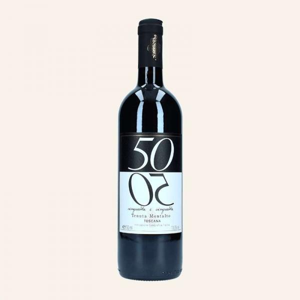 50/50 - Rotwein