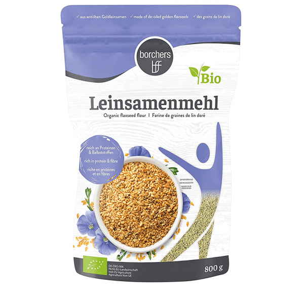 Bio Leinsamenmehl 800g (MHD 10/2021)