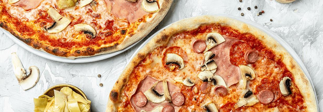 Low Carb Pizza mit Quark-Öl-Teig