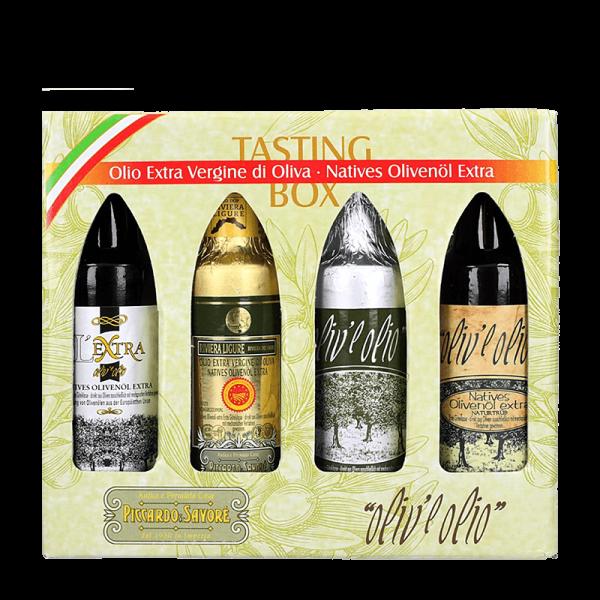 Tastingbox Natives Olivenöl Extra