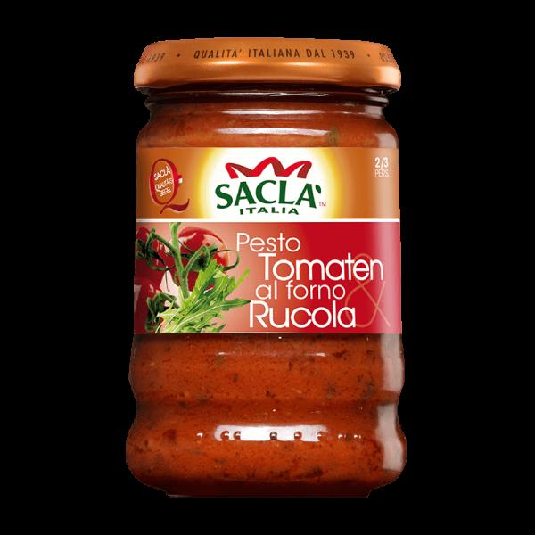 Pesto Tomate al forno & Rucola