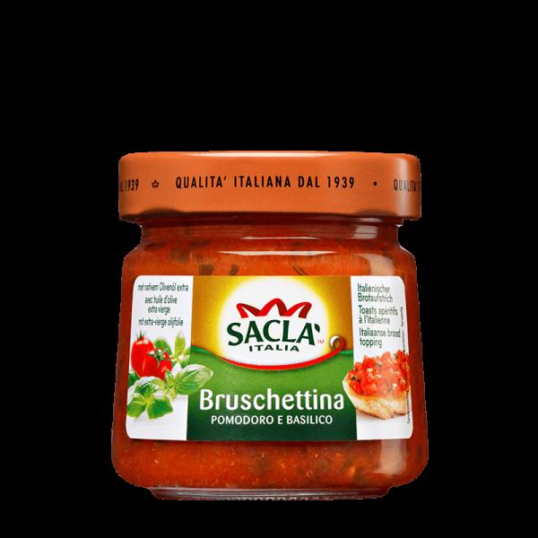 Bruschettina Pomodoro e Basilico