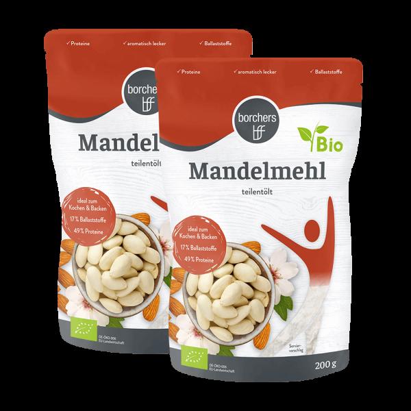 2x Bio Mandelmehl (MHD 20.11.2021)