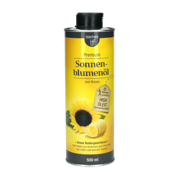 Premium Sonnenblumenöl mit feinem Butteraroma