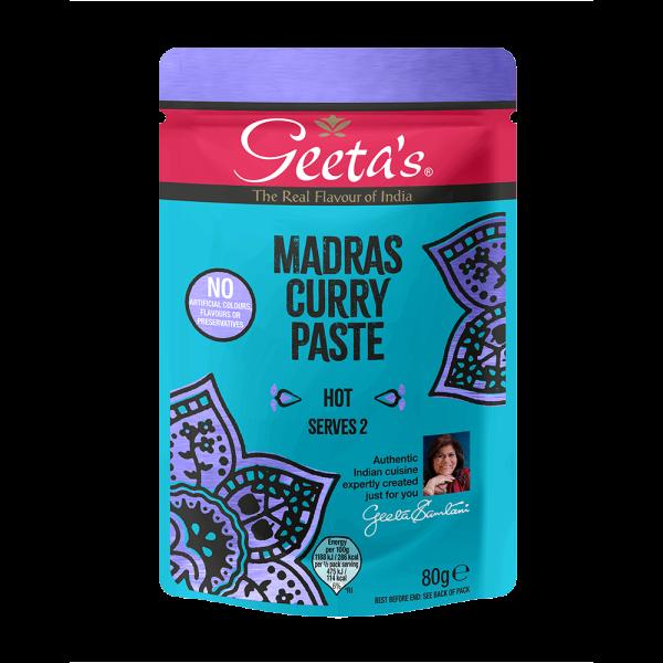 Curry Paste Madras (Hot)