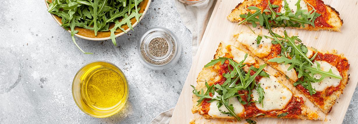 Vegane Low Carb Pizza