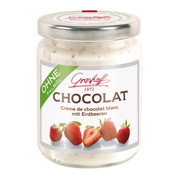 Weiße Chocolat Erdbeere