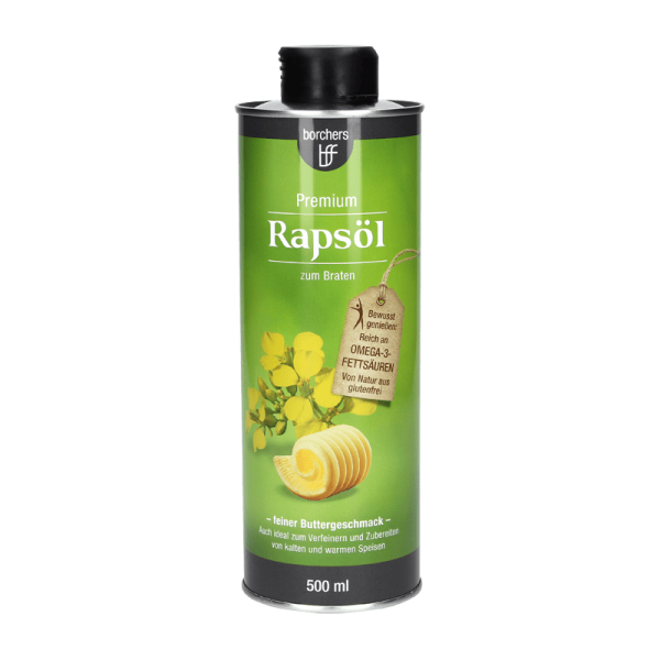 Premium Rapsöl mit feinem Butteraroma