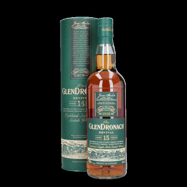 Revival 15 Jahre - Highland Single Malt Scotch Whisky - 46 % vol.