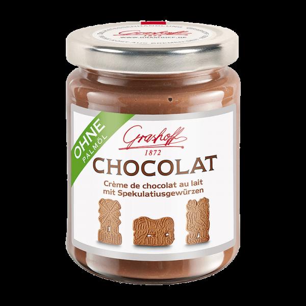 Milch-Chocolat mit Spekulatiusgewürzen