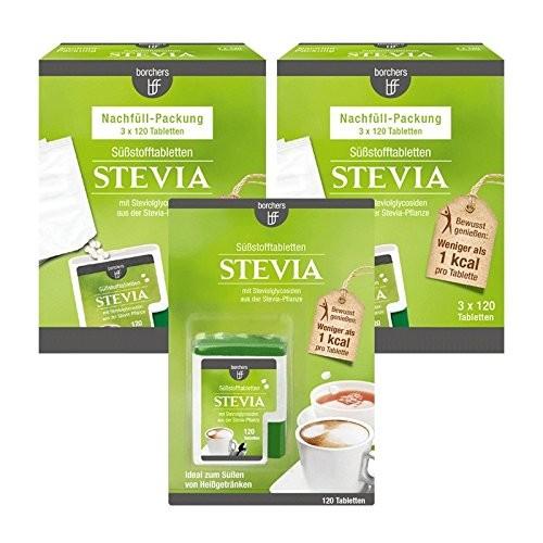 Stevia Süßstofftabletten Vorteilspack