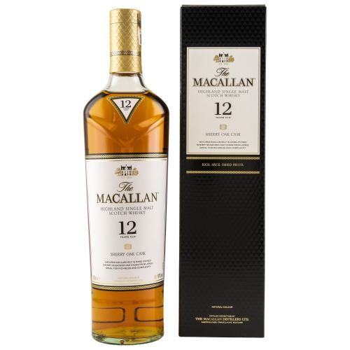 Sherry Oak 12 Jahre - Highland Single Malt Scotch Whisky - 40 % vol.