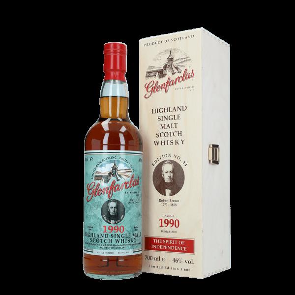 Edition 24 Robert Brown - 30 Jahre - 1990 - Sherry Whisky - 46 % vol. - 700 ml