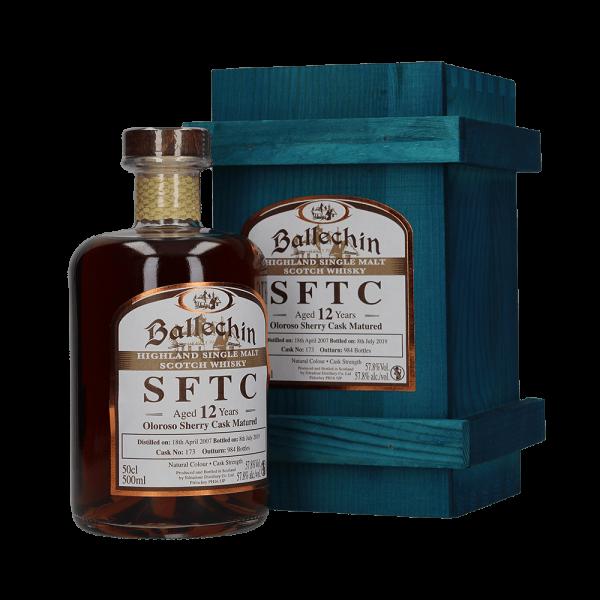 Oloroso Sherry Cask Matured SFTC No. 173 - 12 Jahre - 2007/2019 - Single Malt Whisky - 57,