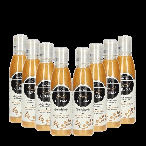 8x Gold Crema Aceto di Balsamico