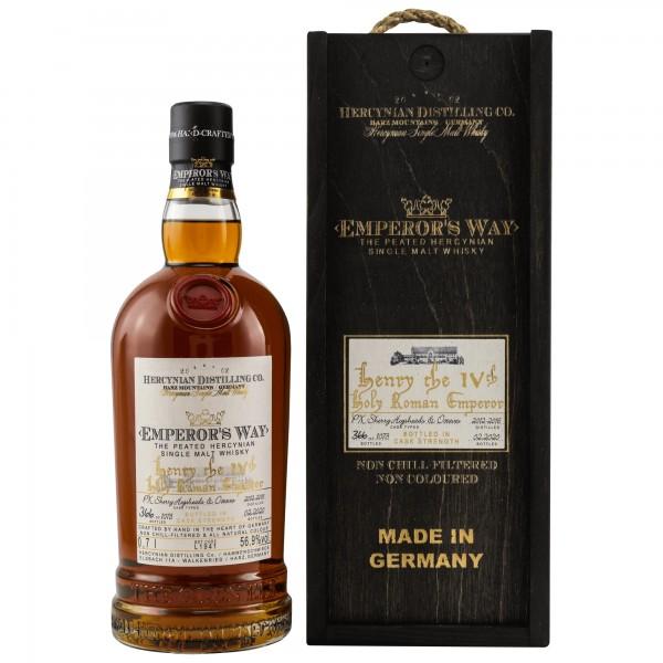 Emperors Way Henry IV. - PX Sherry Cask - Single Malt Whisky - 56,9 % vol.
