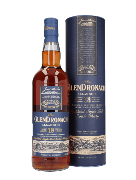 Allardice 18 Jahre - Highland Single Malt Scotch Whisky - 46 % vol.