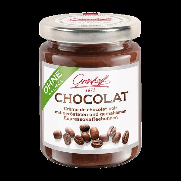 Dunkle Chocolat mit Espressocafé