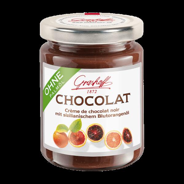 Dunkle Chocolat Blutorange